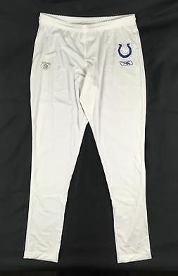 NEW Reebok Indianapolis Colts - White Poly Running Tights