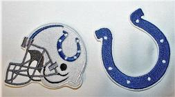 NFL Indianapolis Colts Embroidered  Iron-on Patch FREE SH